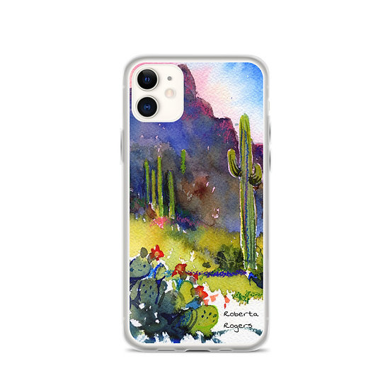 iPhone Case Tubac Hills by Roberta Rogers