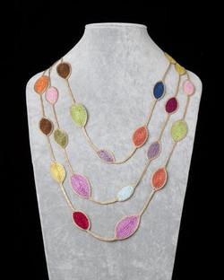 crochet necklaces