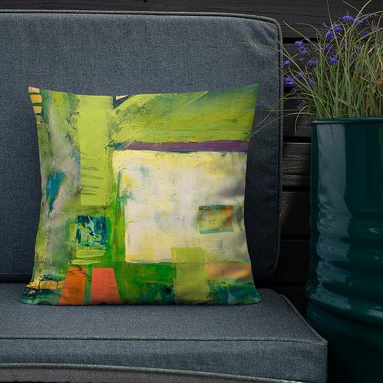 Premium Pillow, Runway, by Jen Prill
