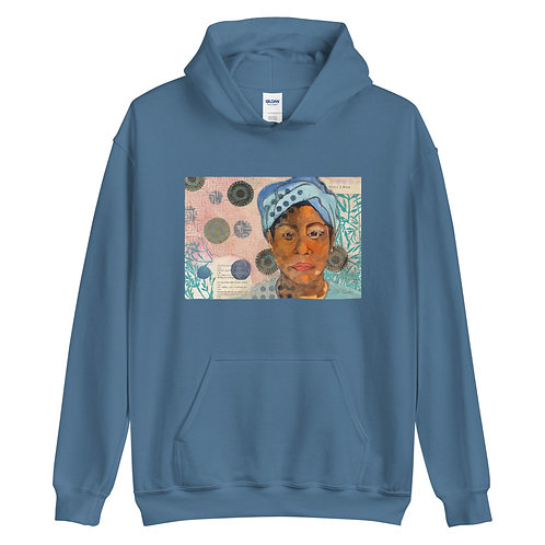 Unisex Hoodie, Still I Rise, by Ouida Touchon