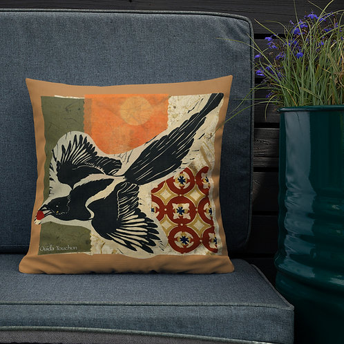 Premium Pillow by Tubac artist, Ouida Touchon