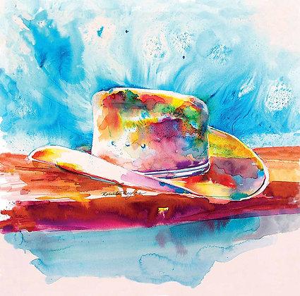 Colorful Cowboy Hat