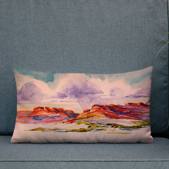 Premium Pillow, Coming Storm by Roberta Rogers
