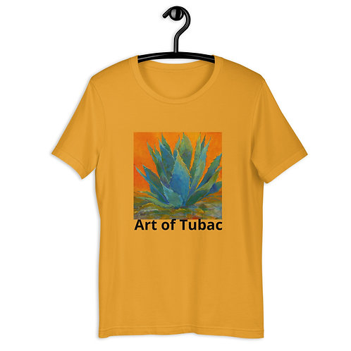 Short-Sleeve Unisex T-Shirt, Blue Agave, by Roberta Rogers