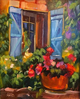 Lisa Matta's colorful paintings for sale at Tubac Art and Gifts