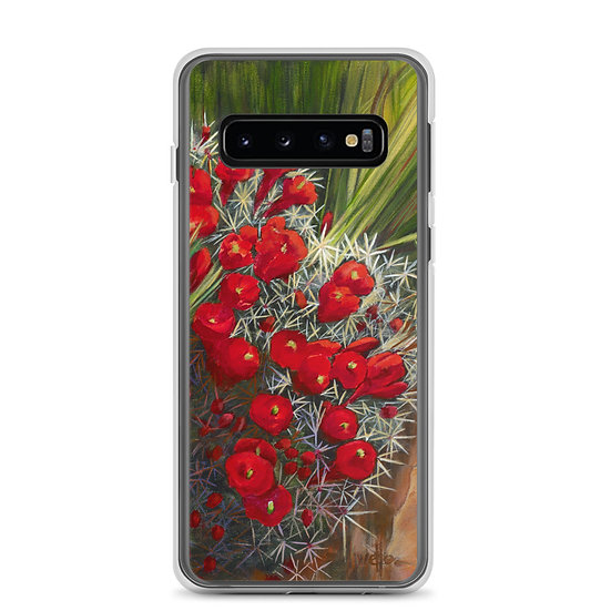 Samsung Case, Prickly Pear by Jacci Weller