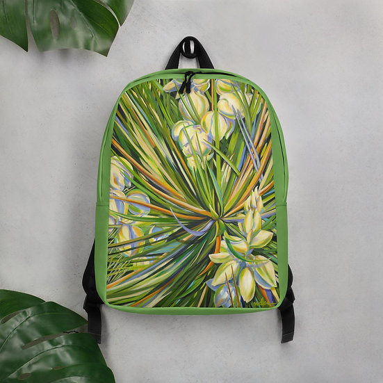 Minimalist Backpack designed by Tubac Artist, Jacci Weller