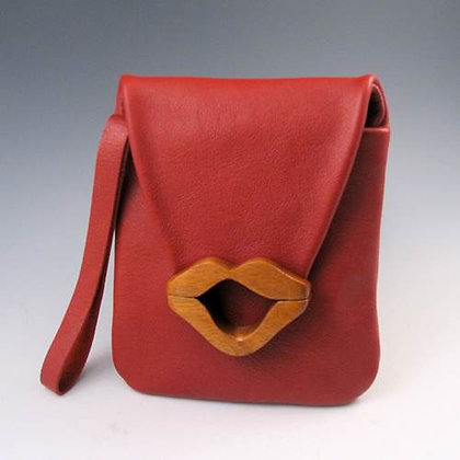 Small Lip Bag - Red