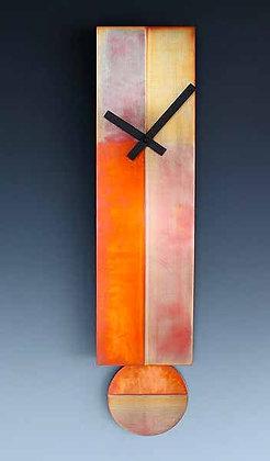 Lena Tie Pendulum Clock with Copper