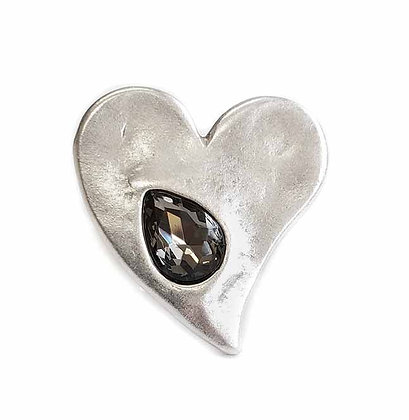 Pewter Heart Ring