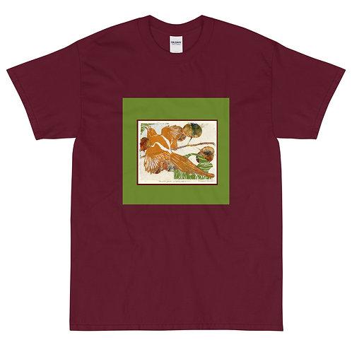 Men's Short Sleeve T-Shirt, Raven 3 by Ouida Touchon
