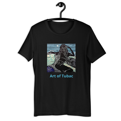 Short-Sleeve Unisex T-Shirt, Reclining, by Ouida Touchon