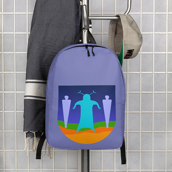 Minimalist Backpack designed by Tubac artist