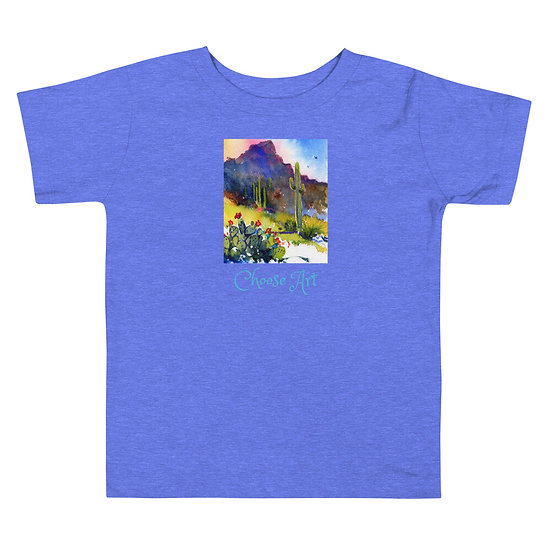 Toddler Short Sleeve Tee Tubac Hills by Roberta Rogers