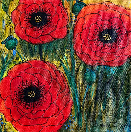 Red Poppies small