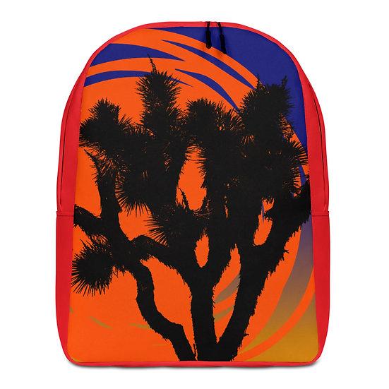 Minimalist Backpack with desert sun by Jen Prill