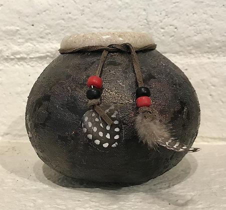 Black Enclosed Bowl