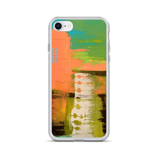 iPhone Case, Abstract by Jen Prill