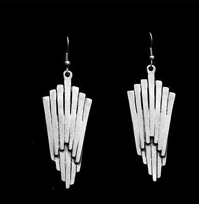 Pewter Arrowheads Earrings
