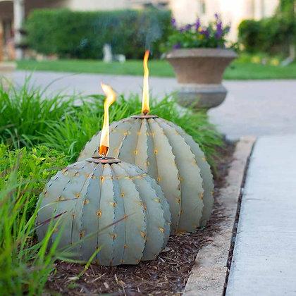 Large Barrel Cactus Torch