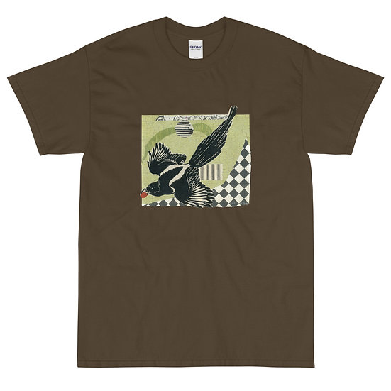 Men's Short Sleeve T-Shirt, Raven 2 by Ouida Touchon