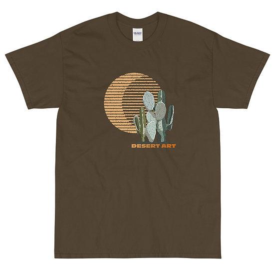 Men's Short Sleeve T-Shirt designed by desert artist
