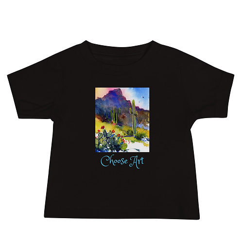 Toddler T Short Sleeve Tubac Hills by Roberta Rogers