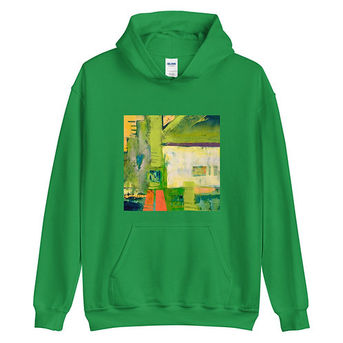Unisex Hoodie, Abstract by Jen Prill