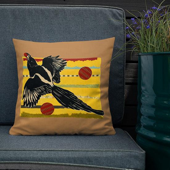 Premium Pillow by Ouida Touchon Tubac artist