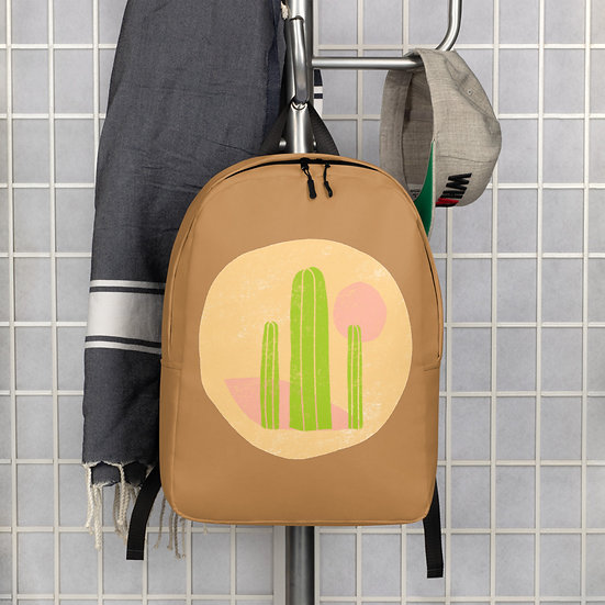 Minimalist Backpack designed by Tubac artist with Southwest theme