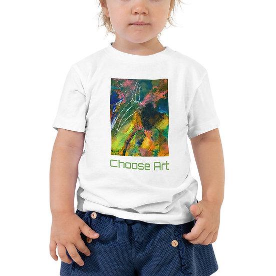 Toddler Short Sleeve Tubac Artist-Designed Tee