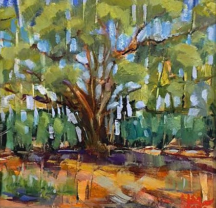 Lisa Matta's Cottonwood for sale at Tubac Art and Gifts