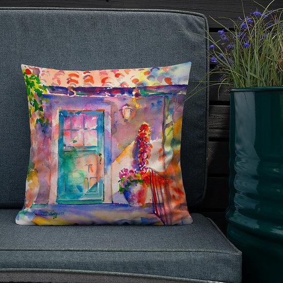 Premium Pillow, Desert Door, by Roberta Rogers