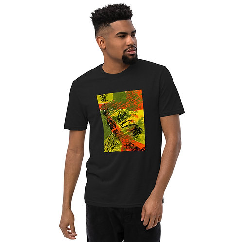 Unisex recycled t-shirt designed by Tubac artist