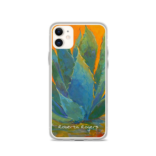 iPhone Case Blue Agave by Roberta Rogers