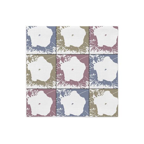Premium Pillow Case, Moon Flowers, by Jen Prill