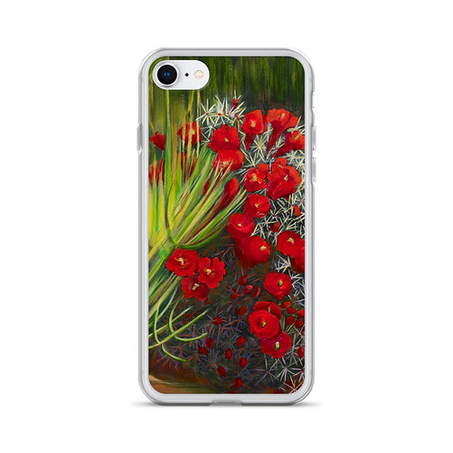 iPhone Case, Prickly Pear by Jacci Weller