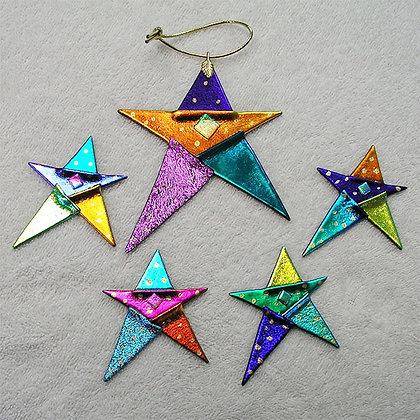 Rainbow Fused Ornaments