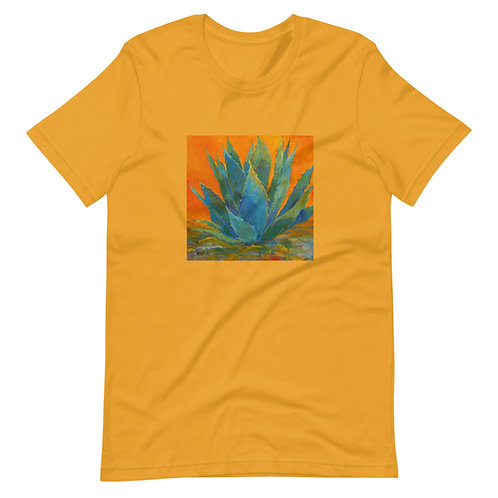 Short-Sleeve Unisex T-Shirt, Blue Agave by Roberta Rogers