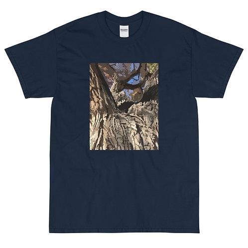 Men's Short Sleeve T-Shirt, Cottonwood, by Jen Prill