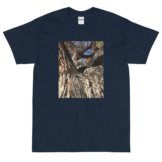 Men's Short Sleeve T-Shirt, Cottonwood, by Jen Prill