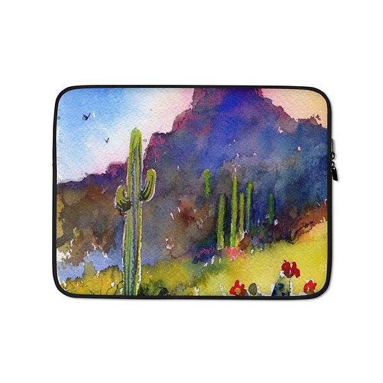 Laptop SleeveTubac Hills by Roberta Rogers