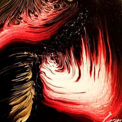 #abstract #dirtypour #acrylic #acrylicpo