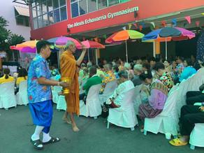 ドゥアン・プラティープ財団様にて行われた「ソンクラン」の祭典