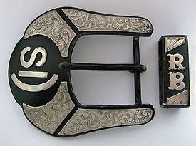 western belt buckle, handmade, custom made