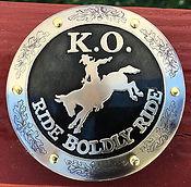 saddle horn cap, horn cap, ride boldly ride, mule rider, mule, mule horn cap, handmade western saddle horn cap, custom made horn cap