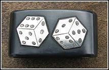gambling, tumbline dice, saddle, saddle horn knot, western art, western