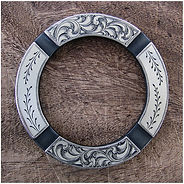 handmade chap ring, saddle ring, O ring