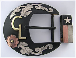 Texas, Texas state flag, western belt buckle, western bright cut engraving, western art