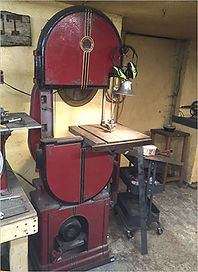 Walker Turner Band Saw, blacksmith shop